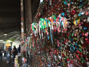 Pike Place Market, Post Alley, Gum Wall, Seattle, Downtown, Waterfront
